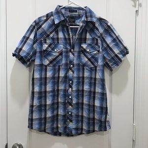 Men's 7 Diamonds Button Down Shirt